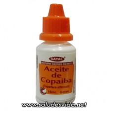 Aceite de Copaiba Sayal