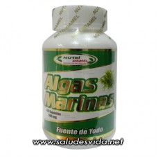 Cápsulas de Algas Marinas