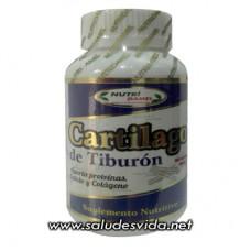 Cápsulas de Cartílago de Tiburón