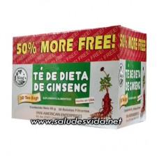 Filtrante Té Dietético Ginseng