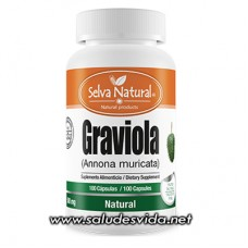 Cápsulas de Graviola - Guanábana